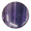 Dark Flourite 5X14mm Round Flat Semi-Precious